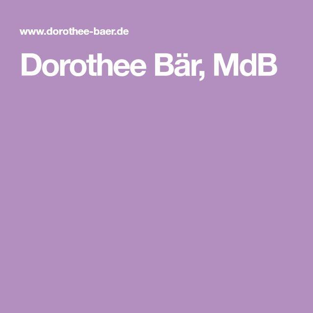 Dorothee Bär, MdB