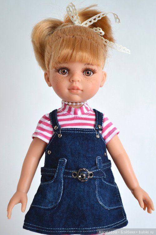 Первые в этом году платья на девчонок от Паола Рейна / Одежда и обувь для кукол - своими руками и не только / Бэйбики. Куклы фото. Одежда для кукол