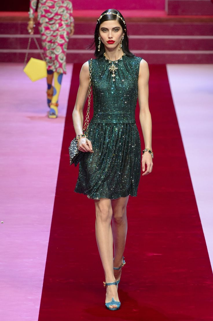 All the Looks From Dolce & Gabbana Spring Summer 2018