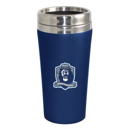 Old Dominion University Lions Double Walled Travel Tumbler, Blue