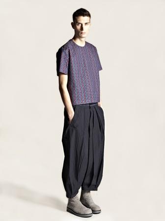 Yohji Yamamoto Pour Homme Cropped Drop Crotch Trousers $1374.04