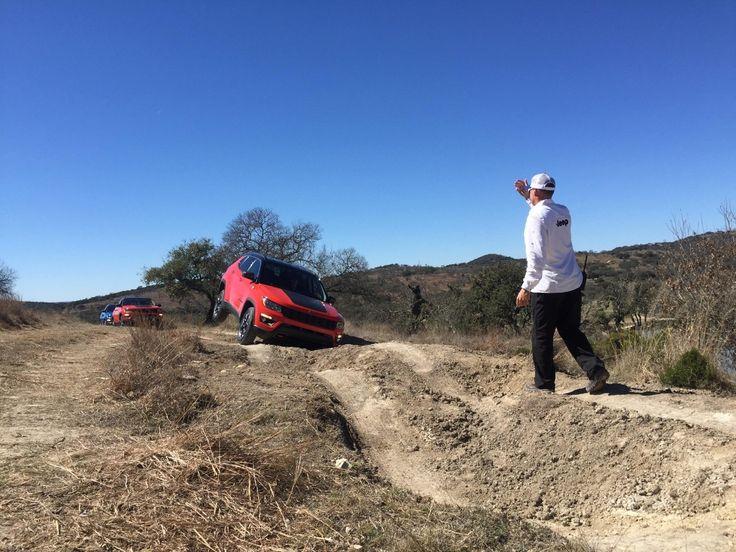 2017 Jeep Compass Trailhawk off-roading in San Antonio, Texas. (Sinclair Broadcast Group / Jill Ciminillo)