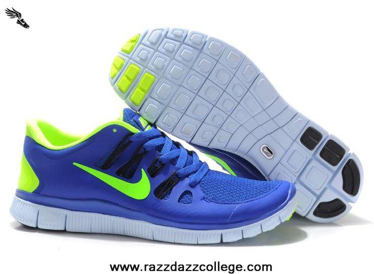 Nike Free Run Mens Treasure Blue Green  Freen Run