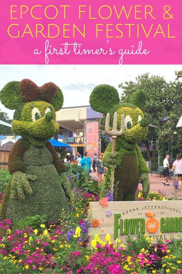 A First Timer's Guide to Epcot's International Flower & Garden Festival at Walt Disney World