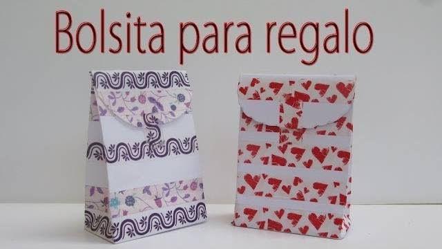 """Manualidades Para Todos: """"Manualidades - Bolsa para regalo - Gift bag"""" - mariajosefifi@gmail.com - Gmail"""