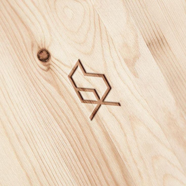 Minimalistic logo design for furniture shop by instagram.com/brandberry.agency