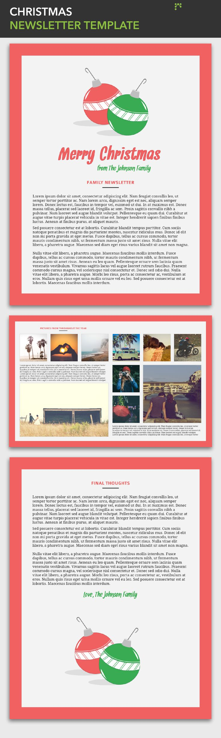 14 best images about Free Magazine & Newsletter Templates on Pinterest