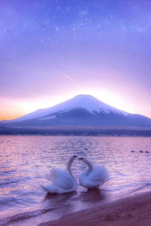 Lake Yamanaka, Yamanashi, Japan