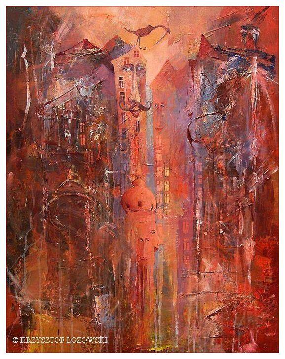 Illustrious, 100x80cm, acrylic, canvas Krzysztof Lozowski www.artmajeur.com/lozowski