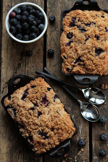 Blueberry Buckle | MyBakingAddiction.com