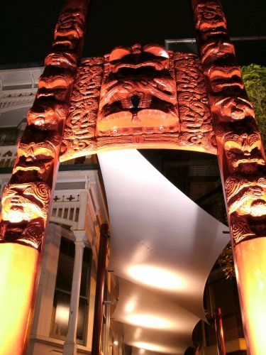 Te Herenga Waka Marae Gateway Lighting » Stephenson u0026 Turner & 30 best Lighting u0026 interaction images on Pinterest | Interactive ... azcodes.com