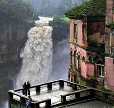 Tequendama Falls, Bogata,Colombia