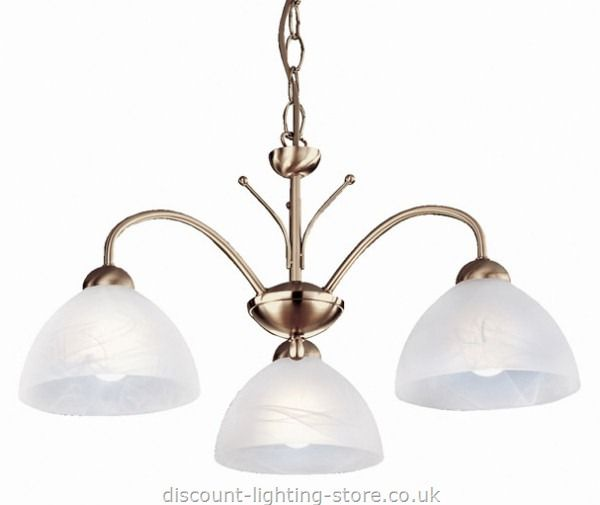 Ceiling Lights : Traditional Ceiling Lights : Traditional Ceiling Light (3 Lights) Milanese