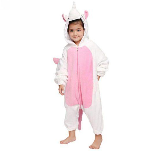 Pink Unicorn Onesie for Kids Pajamas