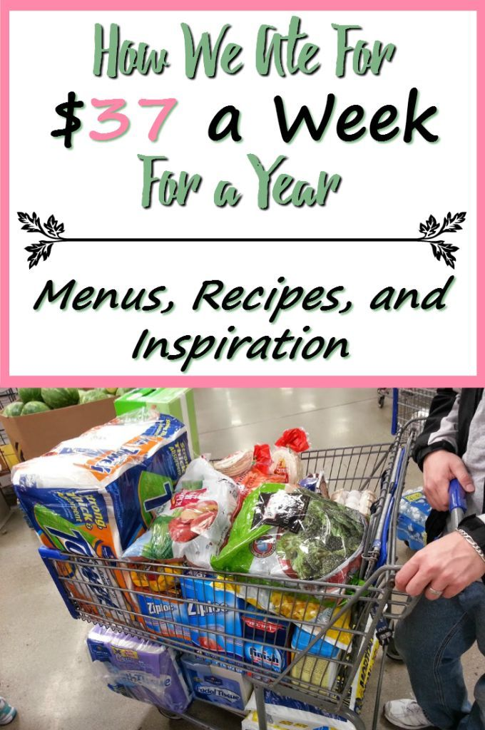 A report on how this family of 3 ate frugally, for $37 a week, for a full year. Includes menus, recipes, and grocery tips that helped them survive! http://www.nogettingoffthistrain.com
