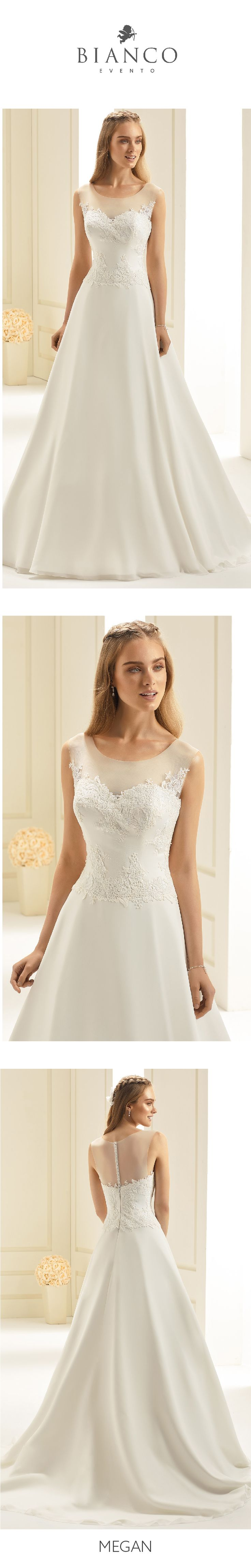 Discover our delicate styles from #NewCollection2018 on www.bianco-evento.com #biancoevento #biancoevento2018 #weddingdress #bridetobe