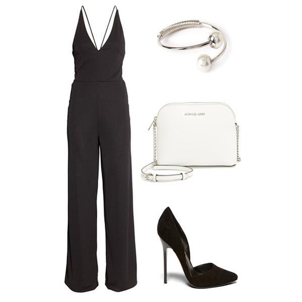 5 looks pour assister à un #mariage - #invitée #cravatenoir #combinaison