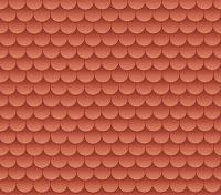 Morandi Sisters Microworld: Printable Wallpapers - Roof Tiles - Carte da parati Stampabili