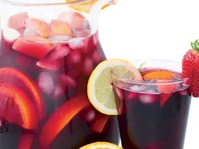Elmalı alkolsüz sangria