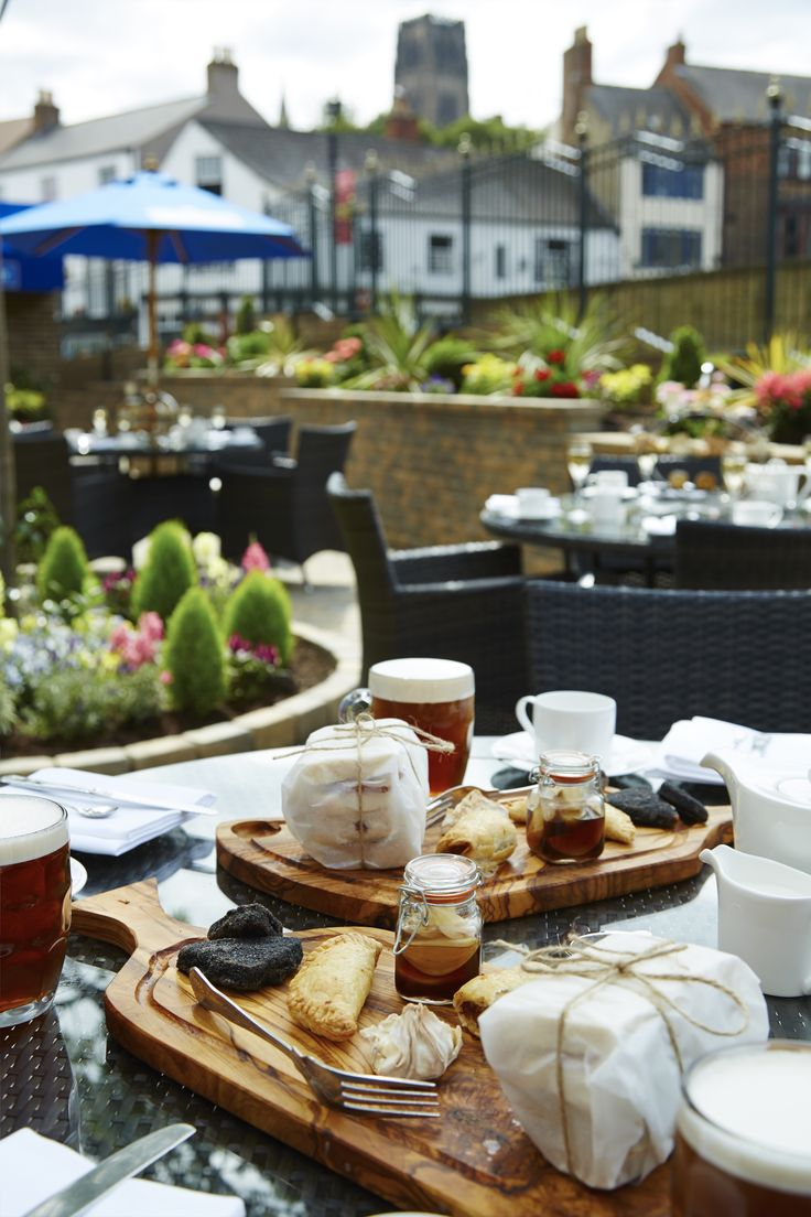 Foreman's Afternoon Tea on the Pommery Champagne Terrace