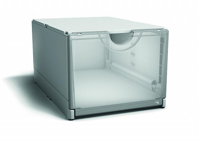 Plus Box White – Transparent | Plasticland