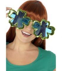 Ochelari uriasi, foarte amuzanti cu model special floral.  Culoare: verzi. Inaltime lentila: 10 cm.