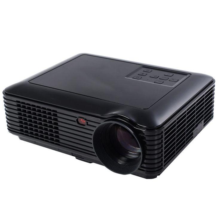 5000 Lumens HD 1080P Home Theater Projector 3D LED Portable SD HDMI VGA USB