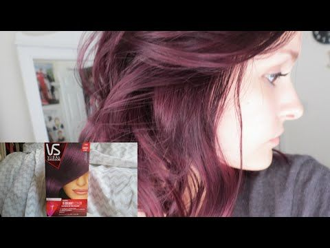 Without Preamble, She Applies Vidal Sassoon 'London Lilac' Straight Over Brown