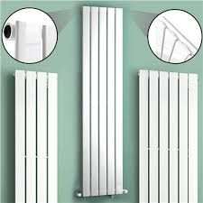 Image result for white upright radiators uk