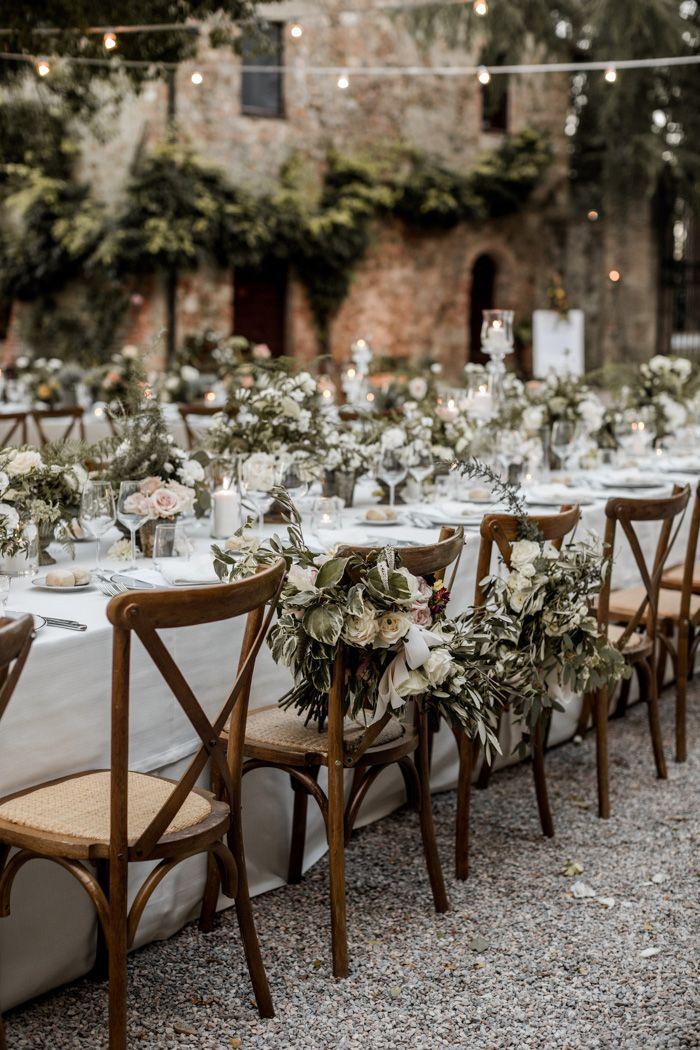 Breathtaking Black Tie Tuscany Wedding At Borgo Di Castelvecchio Junebug Weddings In 2020 Tuscany Wedding Tuscan Wedding Italian Wedding