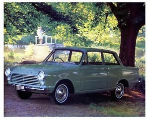 1965 Ford Cortina 1200 1500 GT Factory Photo ca0547