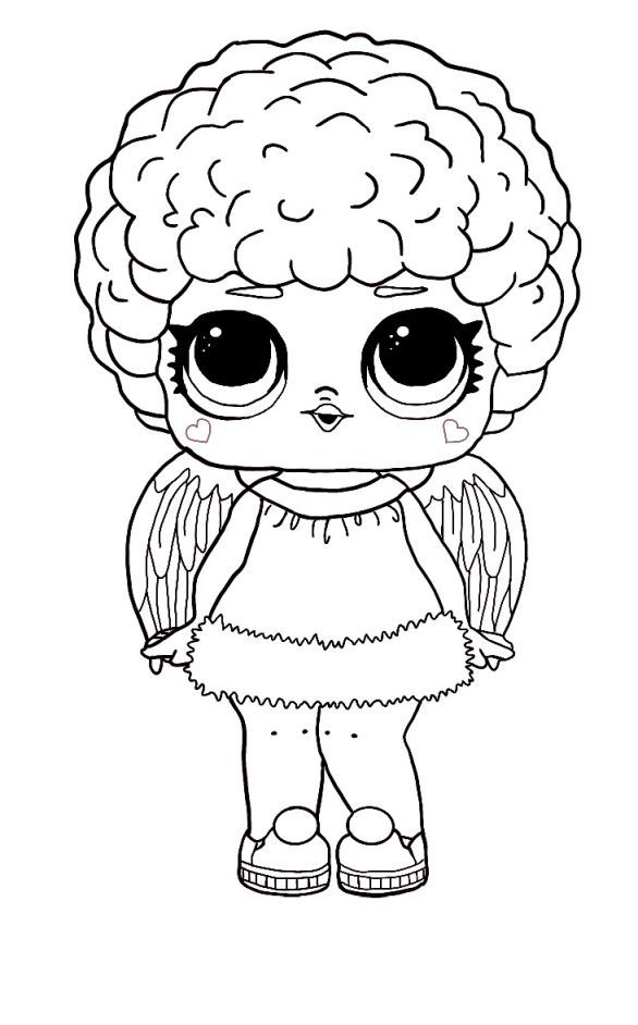 Glamstronaut Lol Coloring Page