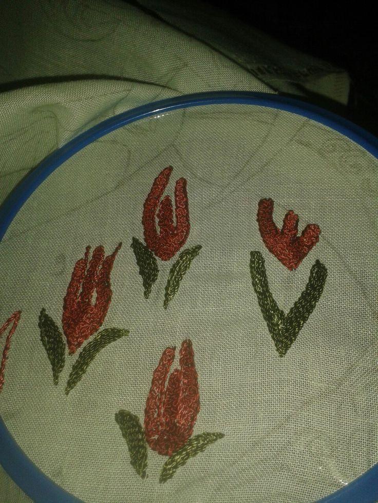 Lale motif Brezilya nakis