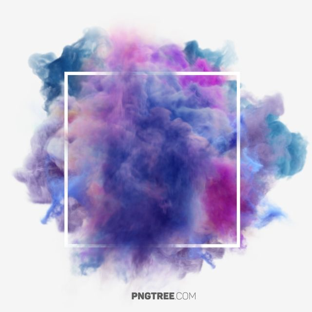 Colorful Smoke Pastel Square Hologram Png Transparent Clipart Image And Psd File For Free Download Colored Smoke Smoke Background Free Png