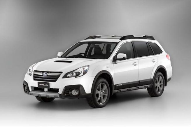 2014 Subaru Outback: can't deny a classic, though I don't know that it's the car for me.