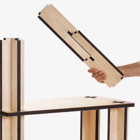 Multifunctional Modular Shelves  by Mario Pagliaro | MONOQI