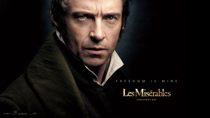 Loved, loved, Hugh Jackman as Jean Valjean in Les Miserables. He was wonderful and definitely the highlight of the movie.  Hugh's talents are definitely wasted in the Wolverine movies which I don't care for even if he is in them. He can do so much more than be dark and brooding and fight with everyone. Didn't care for the latest movie though he did look good in his muscle shirt.