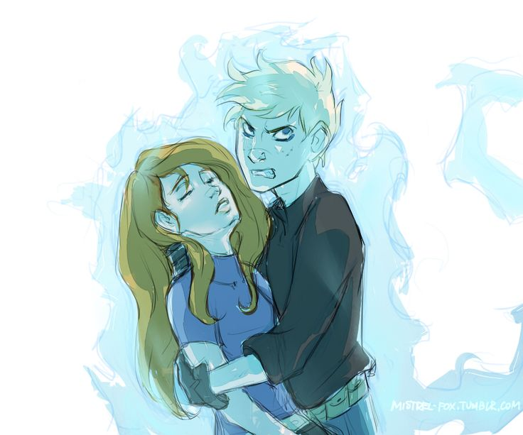 When roles change places by Mistrel-Fox.deviantart.com on @DeviantArt...Kim Possible and Ron Stoppable