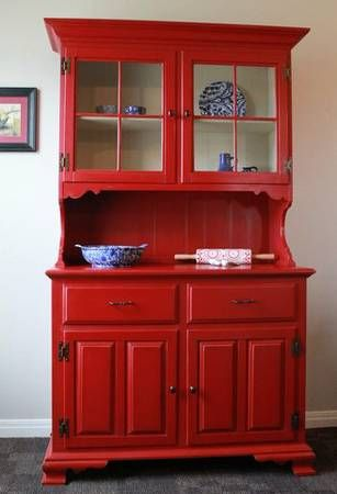Nod to the past Red Hutch