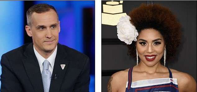 Joy Villa pictures,accused his former campaign manager Corey Lewandowski of inappropriately touching her