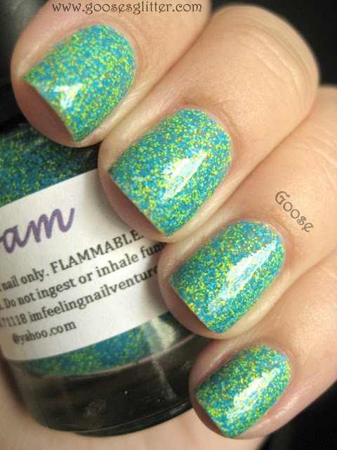 Goose's Glitter: FloamTotally Awesome, Trendy Nails, French Bulldogs, Nailpolish, Goo Glitter, Humble Bees, Nails Polish, Goose Glitter, Weights Loss