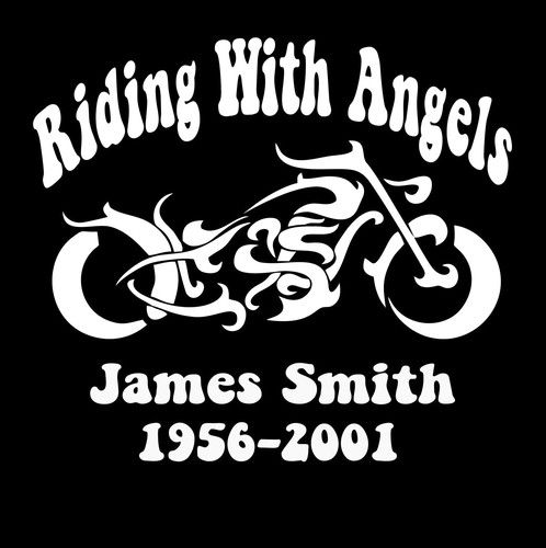 In loving memory decal motorcycle http customstickershop com