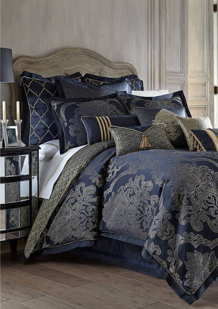 Waterford Vaughn Comforter Set in 2020 Queen comforter