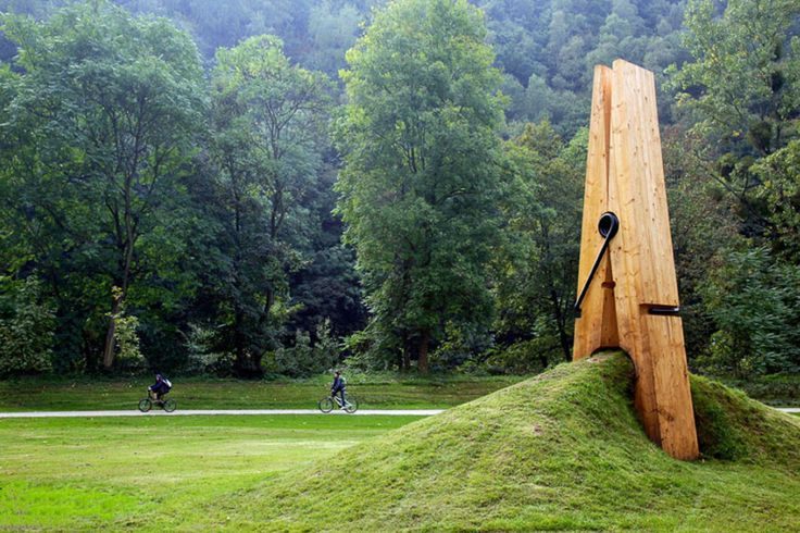 Giant Clothespin by Mehmet Ali Uysal