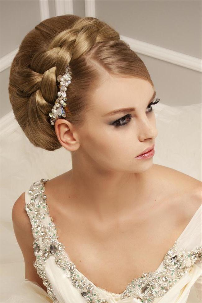 Свадебная прическа с косами пошагово