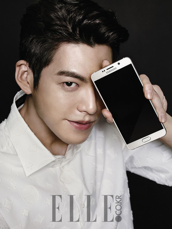 Kim Woo Bin Looks Chic in New Pictorial With Samsung's Galaxy Note 5