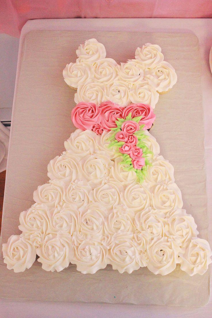 Bella birches bridal shower cupcakes wedding shower