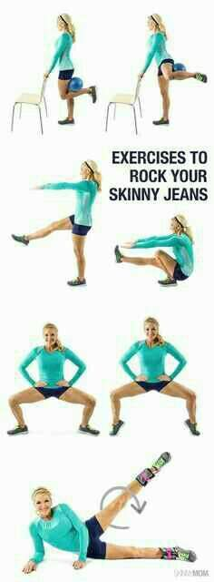 Rock your Skinny Jeans workout#Health&Fitness#Trusper#Tip