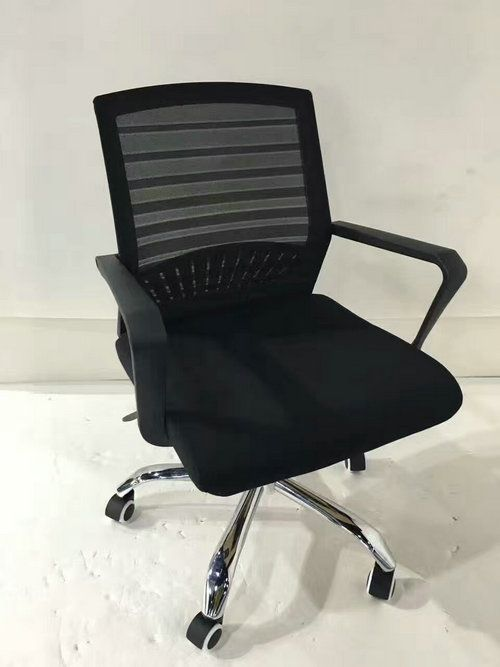 office chair cheap extra large anti gravity with side table comfortable white mesh ergonomic staff computer revolving task price china foshan seating factory