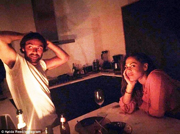 Poldark star Aidan Turner and his former flame Lenora Crichlow have sparked rumours that they have rekindled their romance.